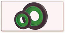 Rubber to Plastic Bonded Rubber Part
