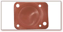 Custom Viton Rubber Diaphragm