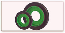 Rubber to Plastic Oil Seal Part